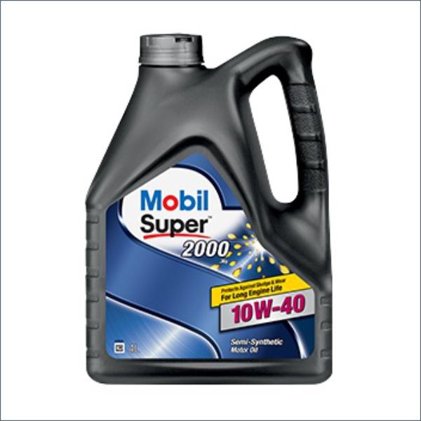 Моторное масло mobil super x1 10w-40