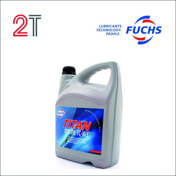 моторное масло fuchs titan marine для двухтактных моторов TC-W3