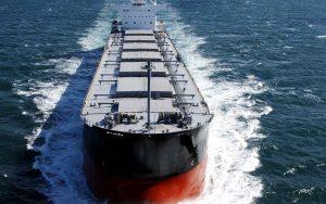 Танкер ExxonMobil в открытом море