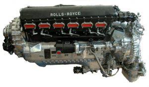Авиационный двигатель Rolls-Royce Merlin