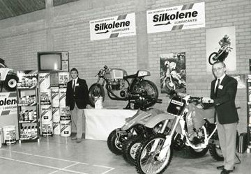 Продукция Silkolene в магазине середина 60-х