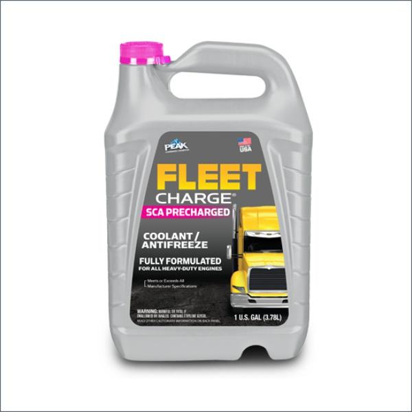 Антифриз peak fleet charge