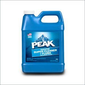peak radiator super cleaner & flush