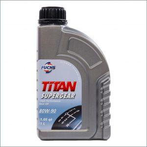 Трансмиссионное масло Fuchs Titan SuperGear 80W-90 1L 1