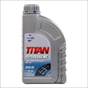 Трансмиссионное масло Fuchs Titan SuperGear MC 80W-90 1L 1