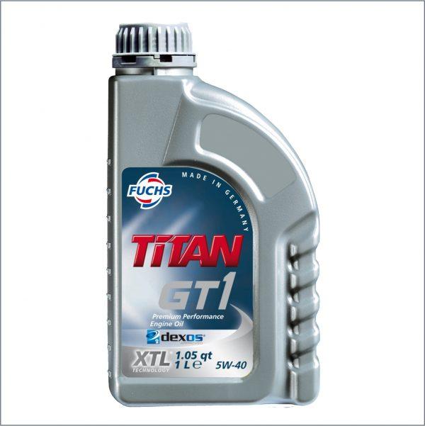 Моторное масло Fuchs Titan GT1 5W40 1L 1