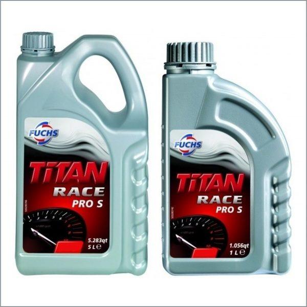 Моторное масло Fuchs Titan Race Pro S 4L 1L