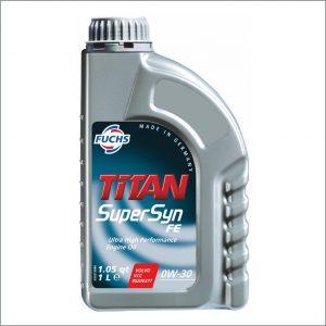 Моторное масло Fuchs Titan SuperSyn FE 0W30 1L 1