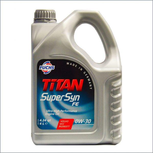 Моторное масло Fuchs Titan SuperSyn FE 0W30 4L 1