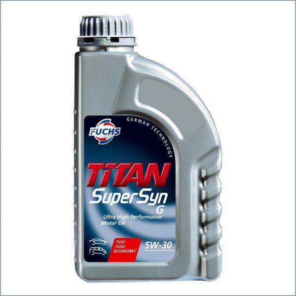Моторное масло Fuchs Titan SuperSyn G 5W30 1L 1