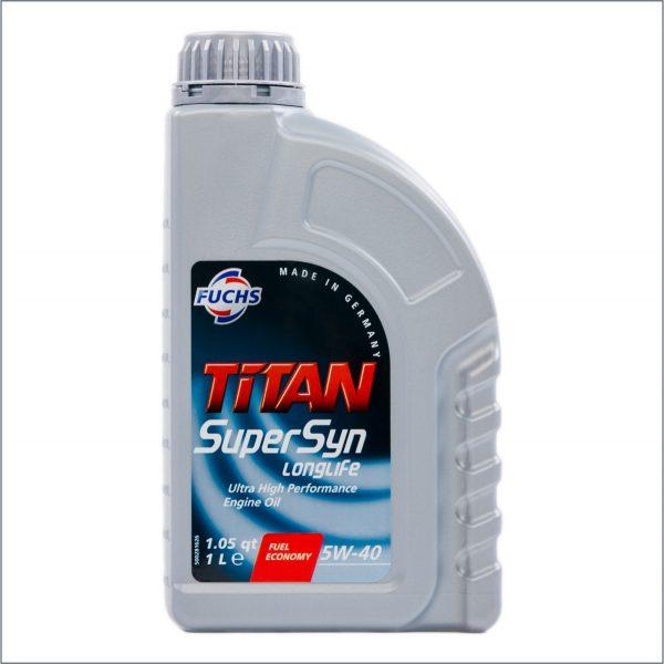 Моторное масло Fuchs Titan SuperSyn Longlife 5W40 1L 1