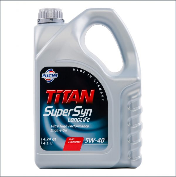 Моторное масло Fuchs Titan SuperSyn Longlife 5W40 4L 1