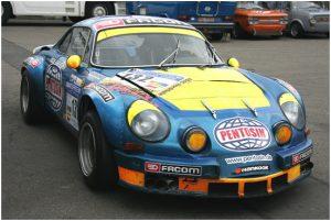Автомобиль Porsche с рекламой Pentosin