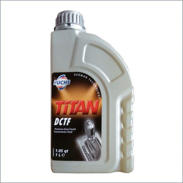 Жидкость для автоматических трансмиссий c двойным мокрым сцеплением Fuchs Titan ATF DCTF 1L 1