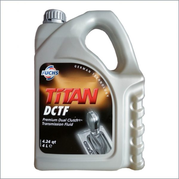 Жидкость для автоматических трансмиссий c двойным мокрым сцеплением Fuchs Titan ATF DCTF 4L 1