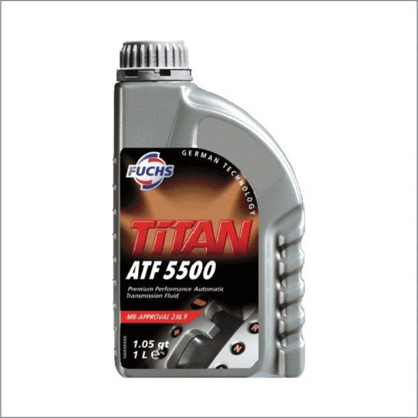 Жидкость для автоматических трансмиссий Fuchs Titan ATF 5500 1L