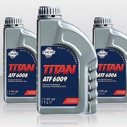 Жидкости для АКПП fuchs titan atf 6006 6008 6009