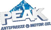 Логотип Peak с надписью 200x120