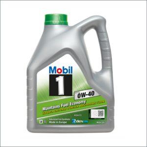 Mobil 1 ESP X3 0w-40 motor oil