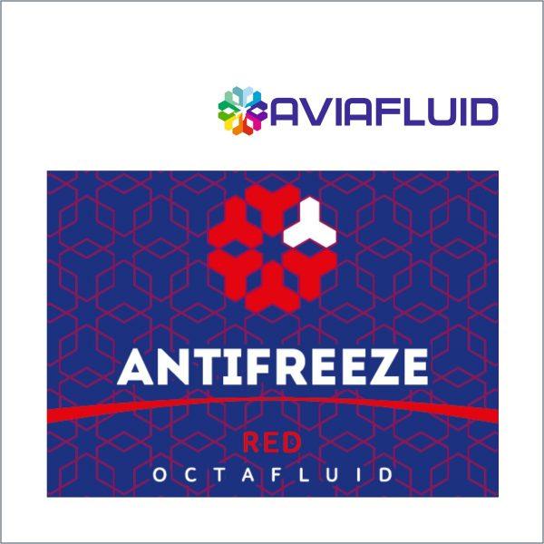 AviaFluid Octafluid antifreeze G12 red