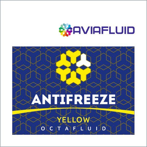 AviaFluid Octafluid antifreeze G12 yellow