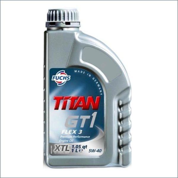 Моторное масло Fuchs Titan GT1 FLEX 3 5W40 1L